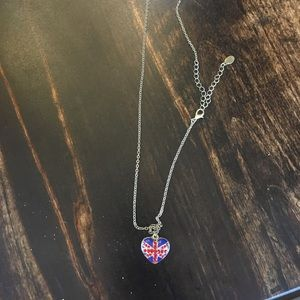 NWT Miso Union Jack Necklace